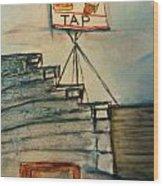 Zenda Tap Wood Print