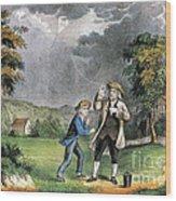 Benjamin Franklin American Polymath Wood Print