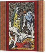 Drumul Crucii - Stations Of The Cross  Wood Print