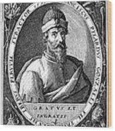 Francisco Pizarro Wood Print