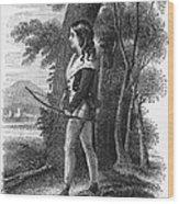 George Gordon Byron Wood Print