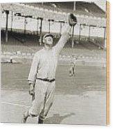 Jim Thorpe (1888-1953) Wood Print