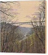 New River Gorge Bridge Wood Print