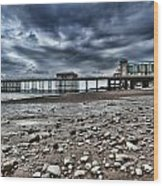 Penarth Pier Wood Print