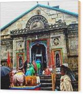 Splendors Of Himalayas-2 Wood Print