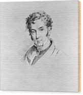 Washington Irving Wood Print