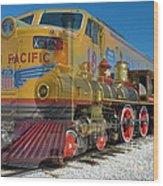 100 Years Of Union Pacific Railroading Wood Print