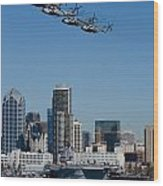 100th Anniversary Of Naval Aviation Wood Print