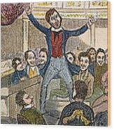 Davy Crockett (1786-1836) Wood Print