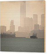 Hong Kong Harbour View Wood Print