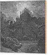 Milton: Paradise Lost Wood Print