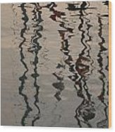 Port Huron To Mackinac Race Wood Print