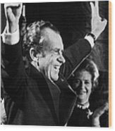 Richard Nixon (1913-1994) Wood Print