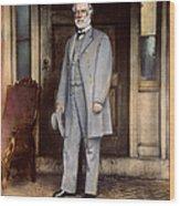 Robert E. Lee (1807-1870) Wood Print
