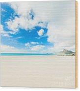 Seascape Wood Print