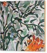 Divineflowers Wood Print