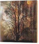 1107 Wood Print
