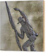 11th Mississippi Infantry Regiment At Gettysburg Wood Print