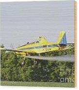 Airplane Wood Print