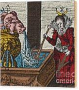 Alchemy Illustration Wood Print