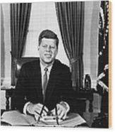 John F. Kennedy (1917-1963) Wood Print
