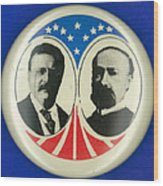 Presidential Campaign: 1904 Wood Print