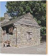St Fagans Museum Wood Print
