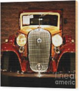 12v Collector Car Wood Print by Susanne Van Hulst