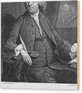 Benjamin Franklin (1706-1790) Wood Print