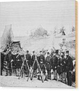 Civil War: Soldiers Wood Print