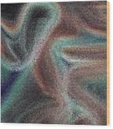 Digital Art Abstract Wood Print