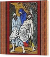 Drumul Crucii - Stations Of The Cross  Wood Print by Buclea Cristian Petru