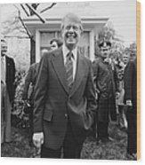 Jimmy Carter (1924- ) Wood Print
