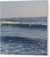 Surfers Make The Ocean Better Series Wood Print