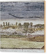 Battle Of Concord, 1775 Wood Print