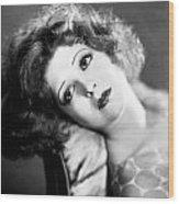 Clara Bow (1905-1965) Wood Print