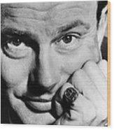 Jack Paar 1918-2004, American Wood Print