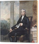 James Monroe (1758-1831) Wood Print