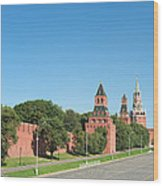 Moscow Kremlin Wood Print