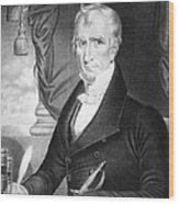 William Henry Harrison Wood Print
