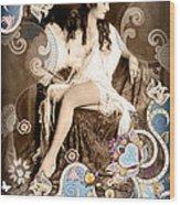 Goddess Wood Print