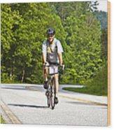 Bicycle Ride Across Georgia Wood Print