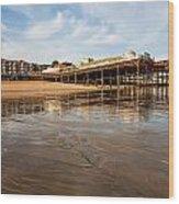 Hastings Pier Wood Print