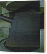 15cm German Naval Gun Wood Print