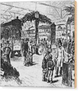 Centennial Fair, 1876 Wood Print