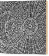 Circle Art Wood Print