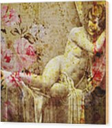 Winsome Woman Wood Print