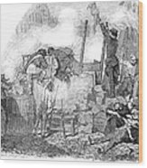 France: Revolution Of 1848 Wood Print