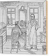 Johann Goethe (1749-1832) Wood Print