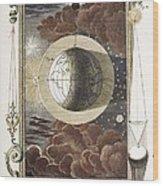 1731 Johann Scheuchzer Creation 4th Day B Wood Print